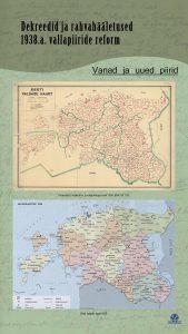 Dekreedid ja rahvahääletused. 1938.a vallapiiride reform