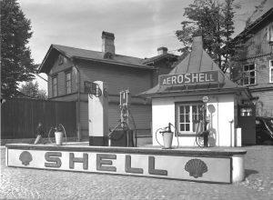 Shelli bensiinijaam Tallinnas