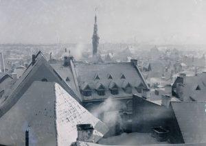 Talvine vaade Tallinna vanalinnale