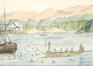 Taiohae laht Nuku Hiva saarel Polüneesias