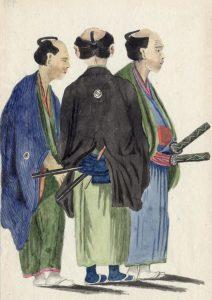Grupp jaapanlasi